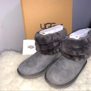 ~Host Pick~ Ugg | Fluff Mini Quilted Boot